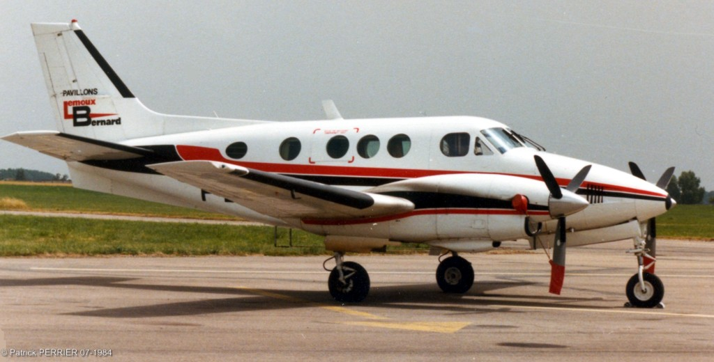 Beech 90 King Air - F-BTAK