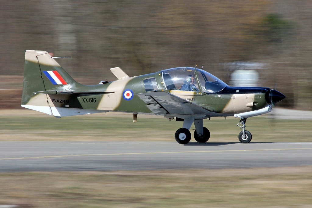 Scottish Aviation (BAe) Bulldog T1 - F-AZRM