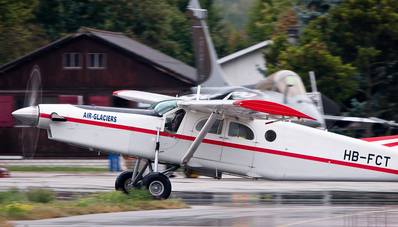 Pilatus PC6 Turbo Porter - HB-FCT