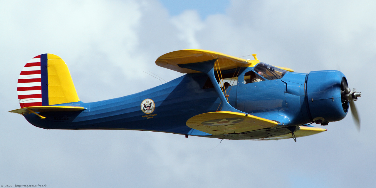 Beechcraft D 17 S Staggerwing - N295BS