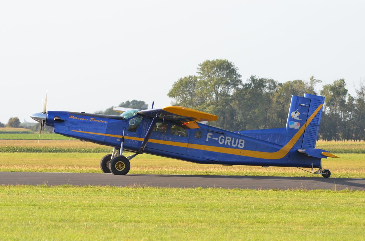 Pilatus PC6 Turbo Porter - F-GRUB