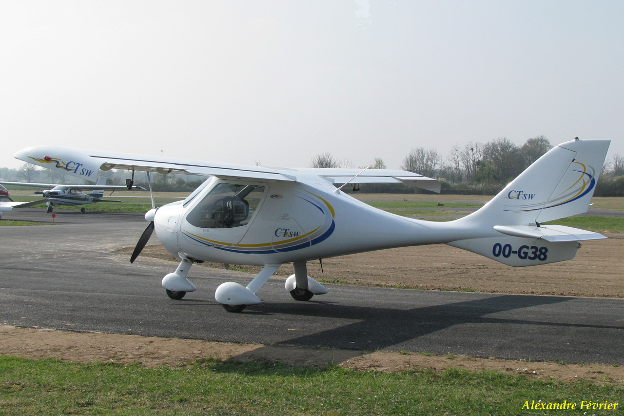 Flight Design CTSW - OO-G38