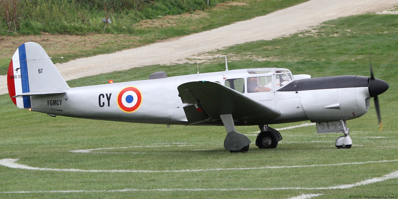 Nord 1101 Noralpha - F-GMCY