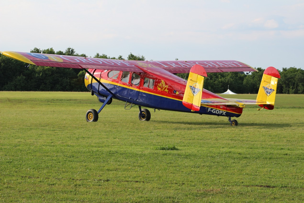 Max Holste 1521 Broussard - F-GDPX