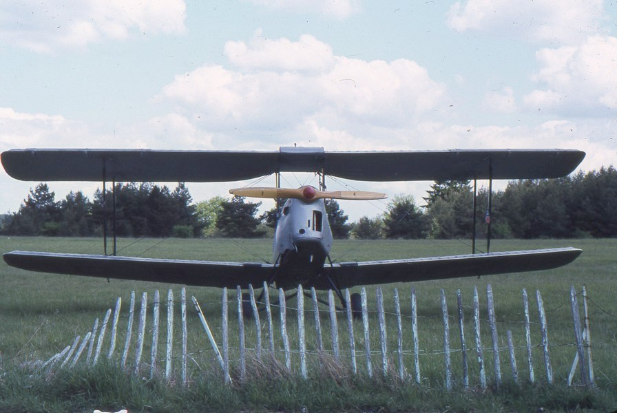 De Havilland DH 82 Tiger Moth - F-BGCS