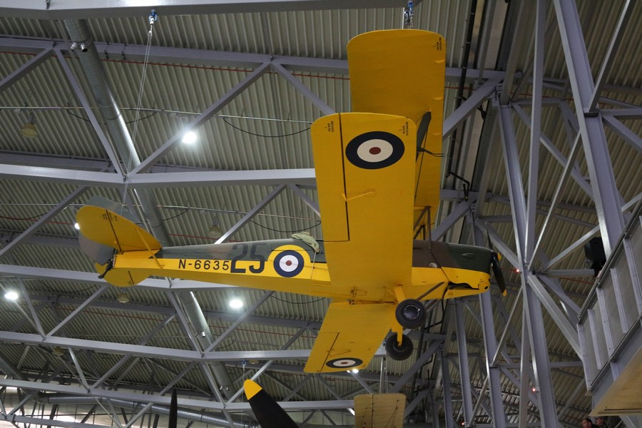 De Havilland DH 82 Tiger Moth - N6635