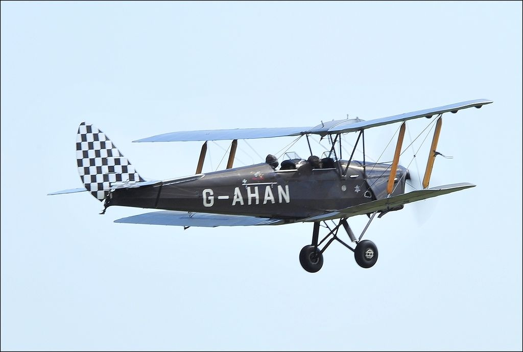 De Havilland DH 82 Tiger Moth - G-AHAN