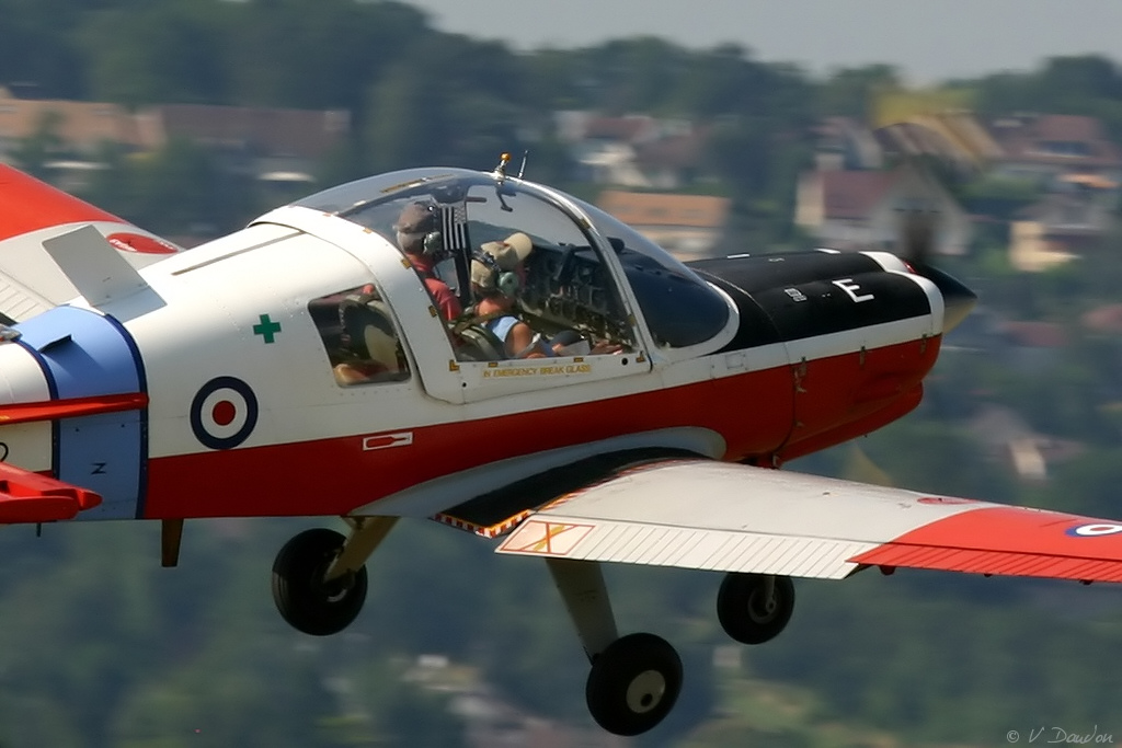 Scottish Aviation (BAe) Bulldog T1 - F-AZOB