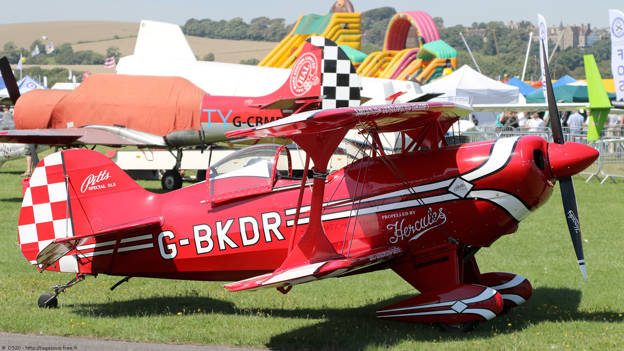 Pitts S-1S - G-BKDR