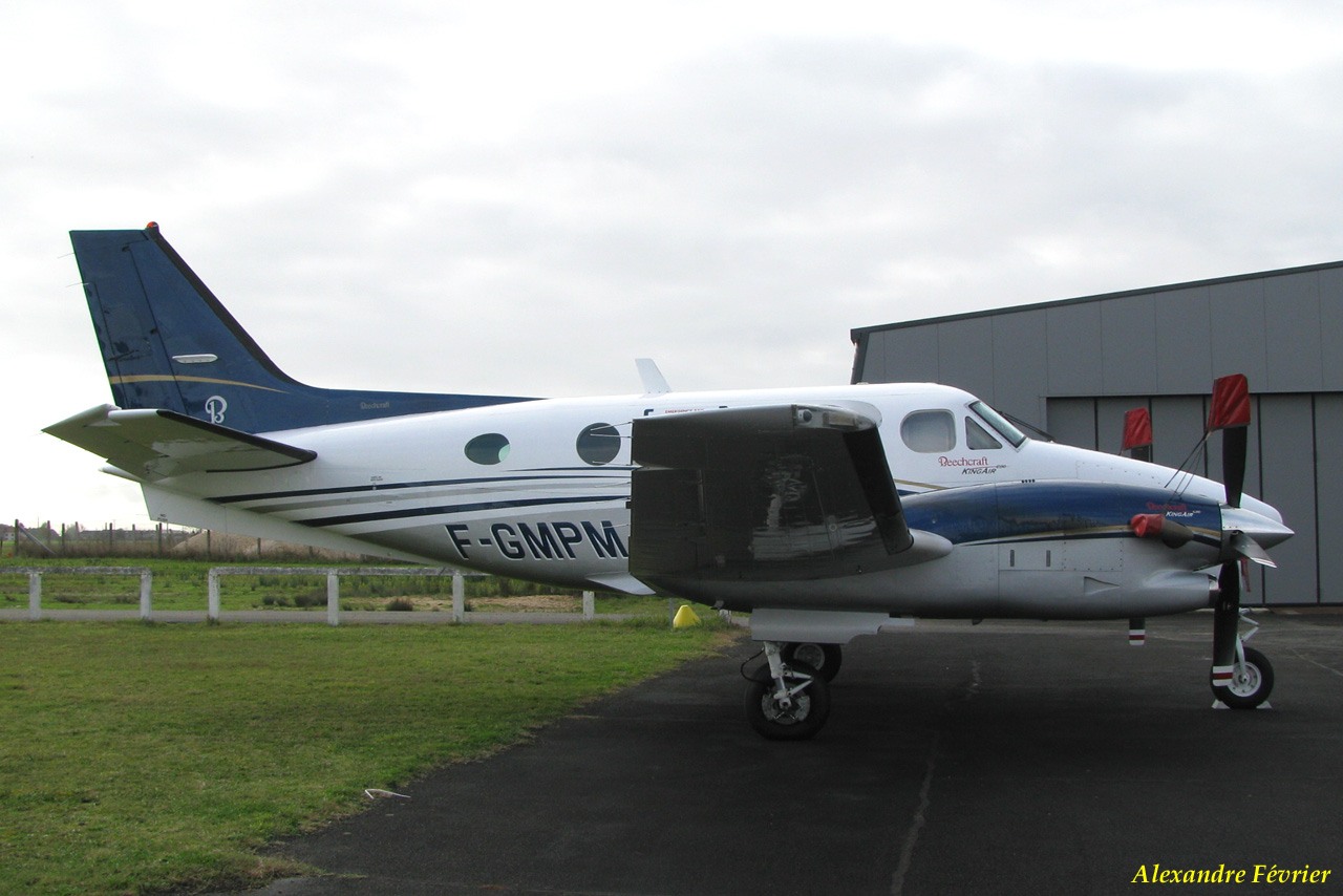 Beech 90 King Air - F-GMPM
