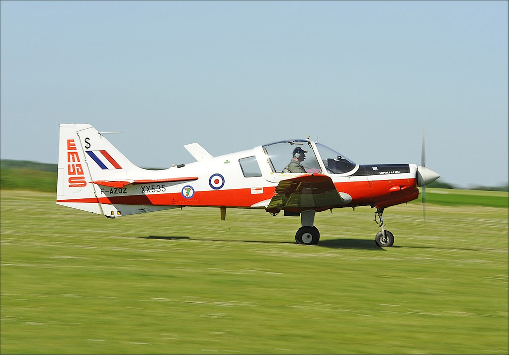 Scottish Aviation (BAe) Bulldog T1 - F-AZOZ