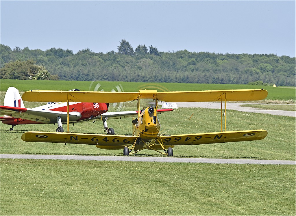 De Havilland DH 82 Tiger Moth - G-ANKZ