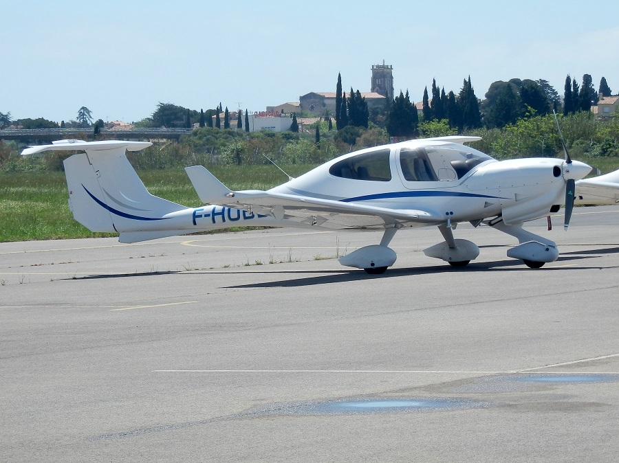Diamond DA-40 NG - F-HOBB