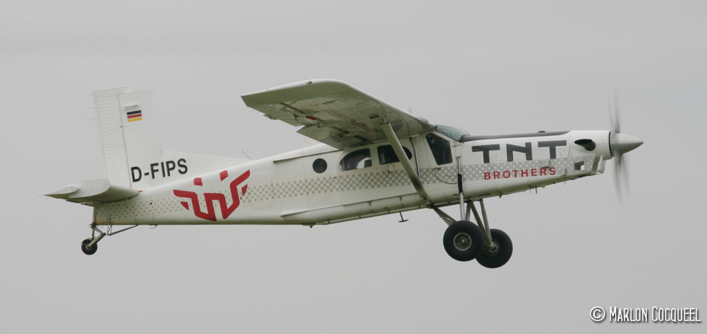 Pilatus PC6 Turbo Porter - D-FIPS
