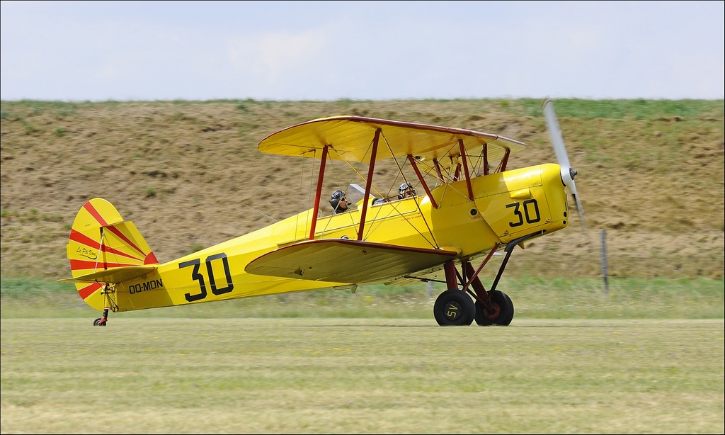 Stampe SV-4 - OO-MON