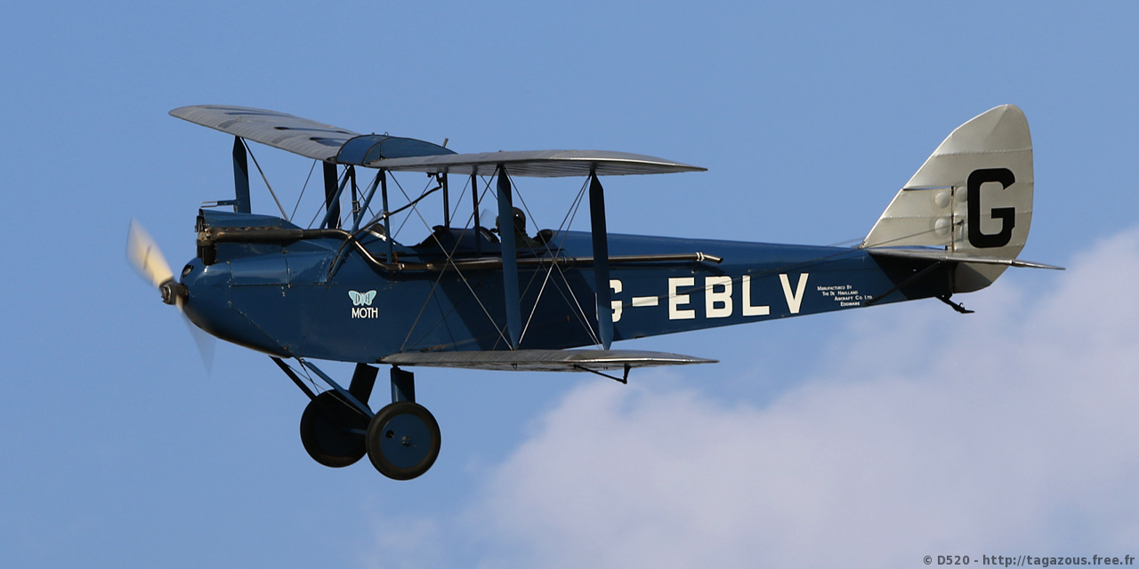 De Havilland DH 60 Moth - G-EBLV