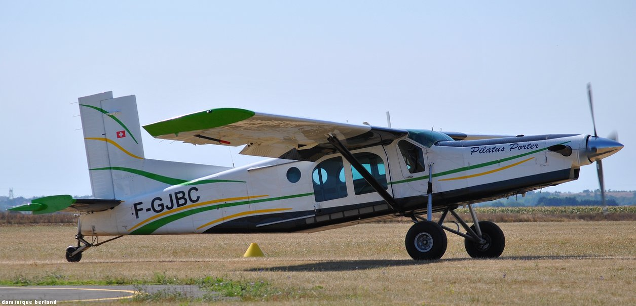 Pilatus PC6 Turbo Porter - F-GJBC