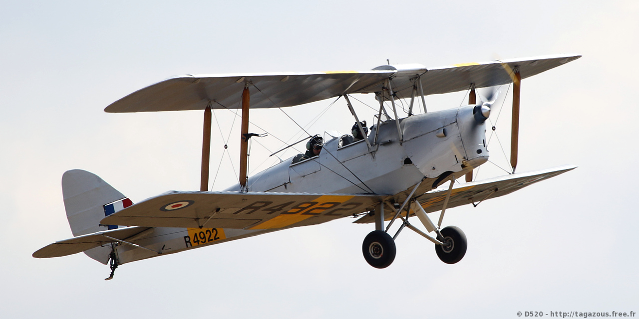 De Havilland DH 82 Tiger Moth - G-APAO