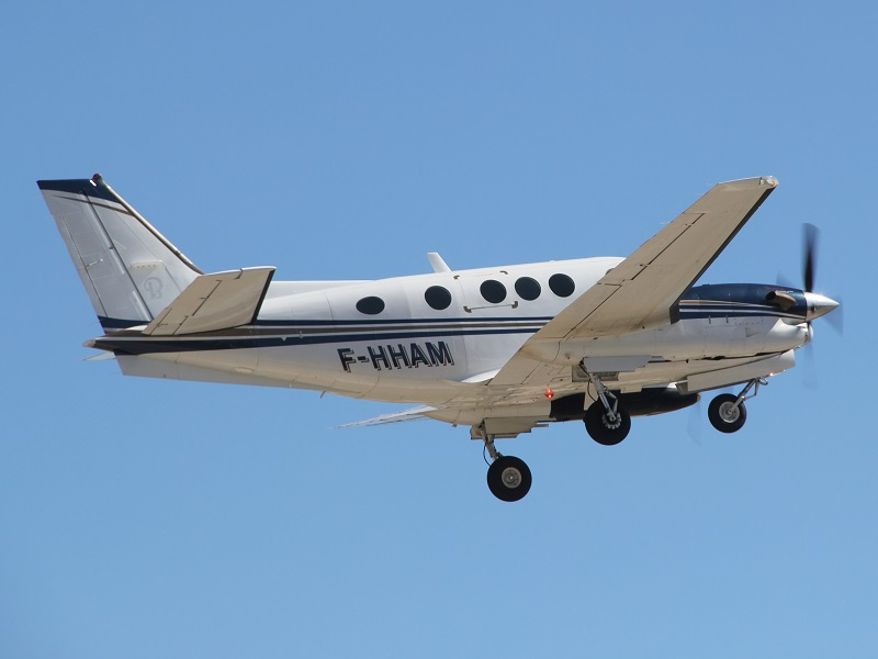 Beech 90 King Air - F-HHAM