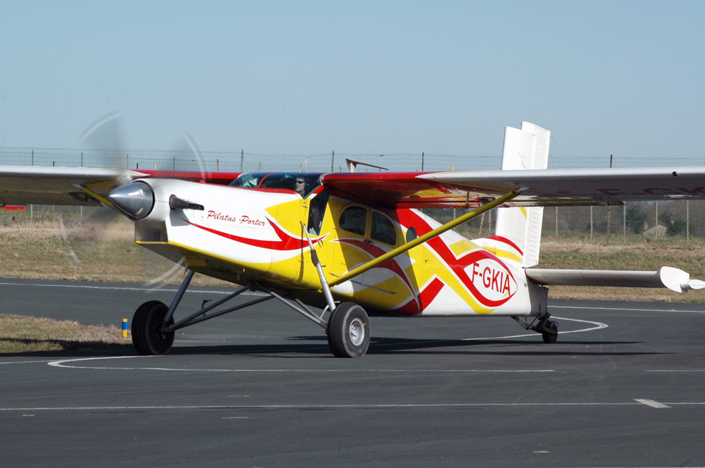 Pilatus PC6 Turbo Porter - F-GKIA
