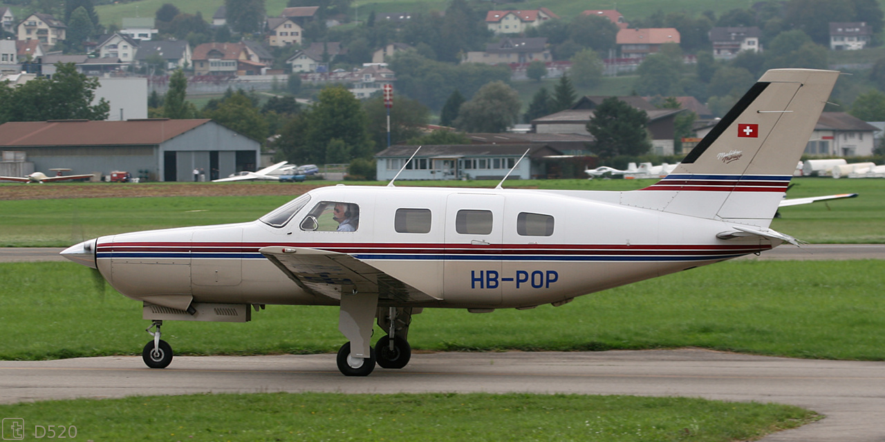 Piper PA-46-350P Malibu Mirage - HB-POP