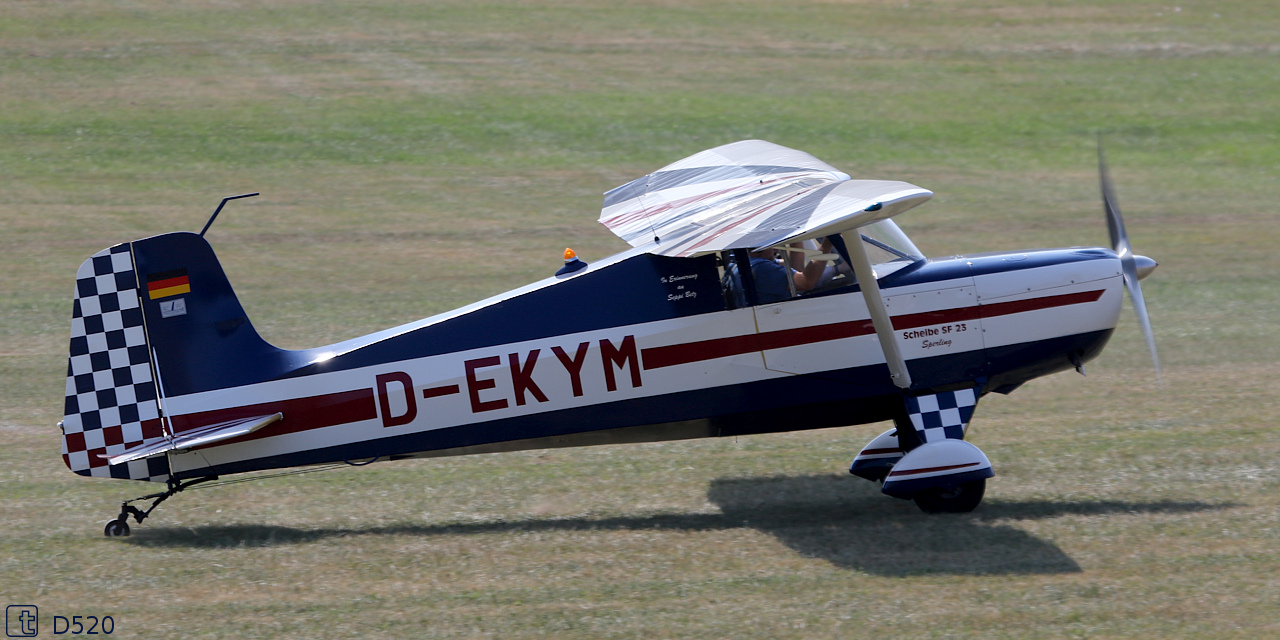 Scheibe SF 23 B Sperling - D-EKYM