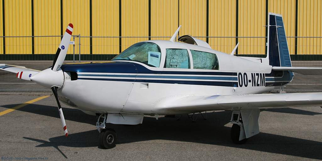 Mooney M 20 K - OO-NZM