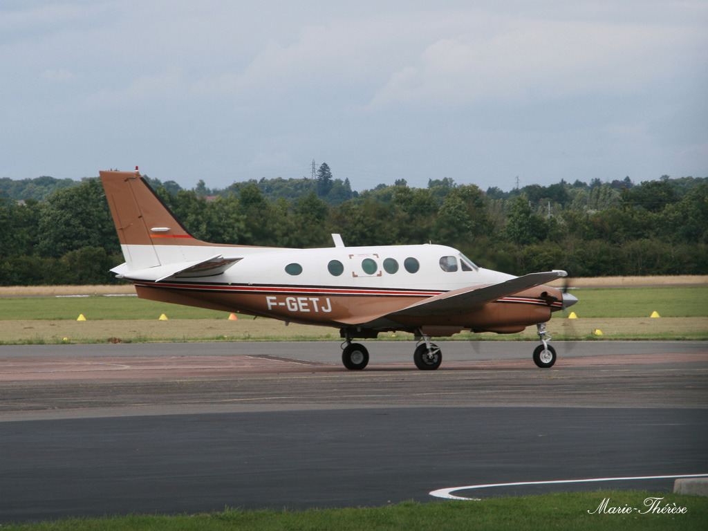 Beech 90 King Air - F-GETJ